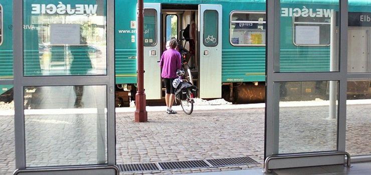 Plakaty Z Rozkładem Jazdy Do Lamusa Elbląski Dworzec