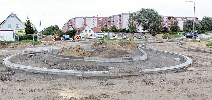 Budowa ronda ósemkowego wkracza w decydujący etap. Wiemy, kiedy zostanie oddane dla ruchu