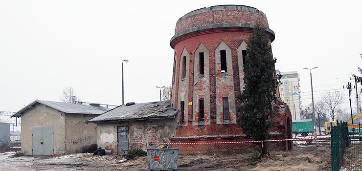 Czy Miasto przejmie od PKP uszkodzoną wieżę ciśnień przy Grunwaldzkiej?