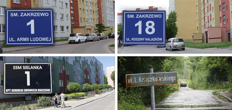 """Nazwy czterech elbląskich ulic zostały zmienione. Kto za to zapłaci? """"Czy mieszkańcy będą mieli zwiększony czynsz?"""""""
