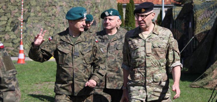 Dowódca duńskiej dywizji z wizytą w Elblągu