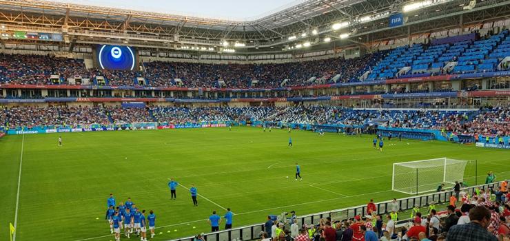 Mundial jeszcze nigdy nie był tak blisko Elbląga. Zobacz zdjęcia z Kaliningradu