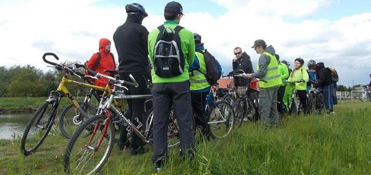Niedzielna wycieczka na rowerze. Żuławskie ciekawostki widziane z roweru