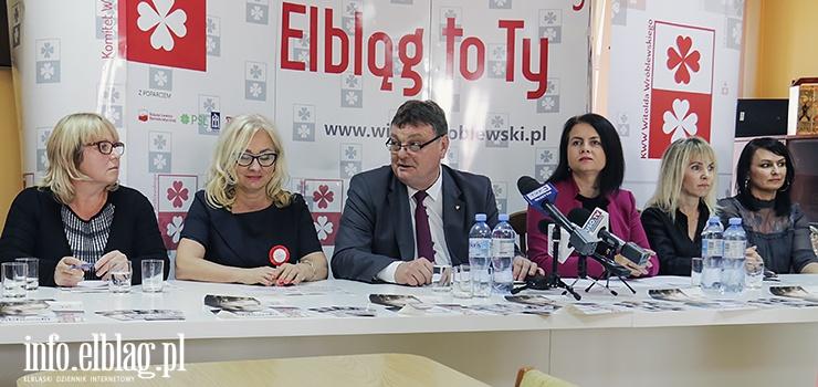 Siła kobiet to mocny atut prezydenta Wróblewskiego w walce o reelekcję