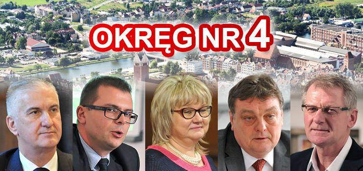 Czyżyk, Boruszka, Lisewska, Wróblewski i Burkhardt - to oni zdobyli najwięcej głosów w okręgu nr 4