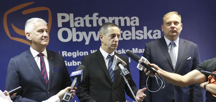 Koalicja PO z prezydentem Wróblewskim zawarta. Jerzy Wcisła: Nie stawiamy żadnych warunków
