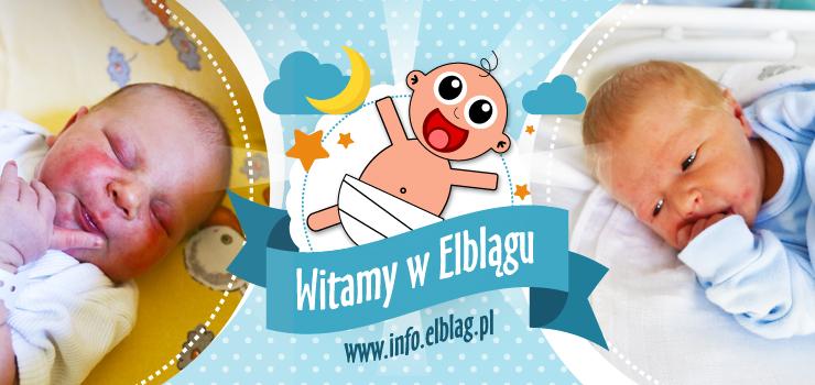 Witamy w Elblągu: Huberta, Michała i małego elblążanina