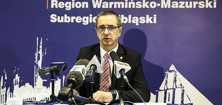 Senator Jerzy Wcisła apeluje: Elbląg zagrożony degradacją