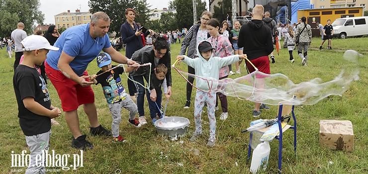 Festiwal Baniek Mydlanych w Parku Modrzewie