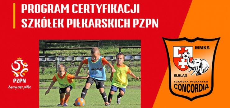 Concordia stara się o złotą gwiazdkę PZPN w szkoleniu dzieci