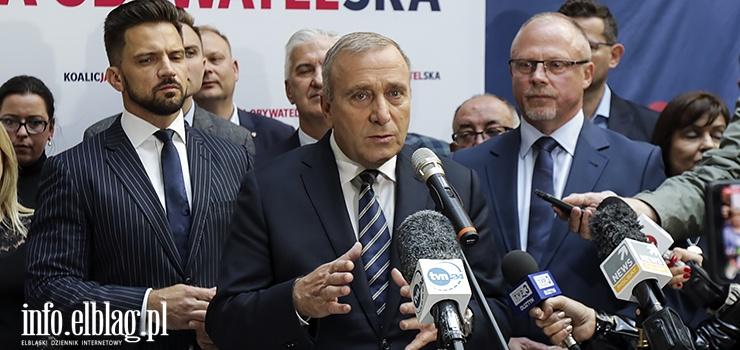 Grzegorz Schetyna: Zależy nam na tym, żeby wygrać te wybory