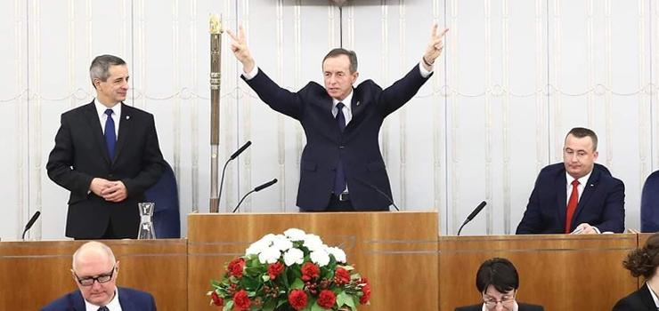 Jerzy Wcisła został sekretarzem Senatu: To będzie bardzo nerwowa kadencja
