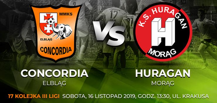 W sobotę ostatni mecz przy Krakusa. Concordia kończy rundę pojedynkiem z Huraganem Morąg