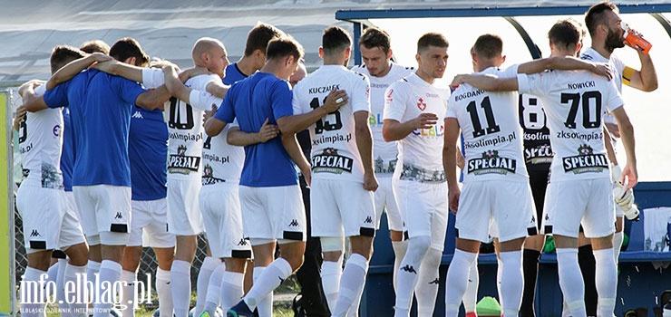 Kolejny wyjazdowy punkt Olimpii Elbląg w II lidze