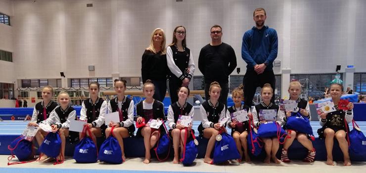 Elblążanki na zawodach Mistrza Olimpijskiego w gimnastyce sportowej- Leszka Blanika