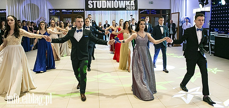 Maturzyści ZST w Elblągu bawili się na studniówce. To był wspaniały bal