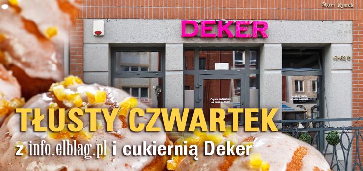 """Redakcja info.elblag.pl oraz cukiernia Deker ogłaszają """"Zawody w jedzeniu pączków"""". To już 7.edycja!"""