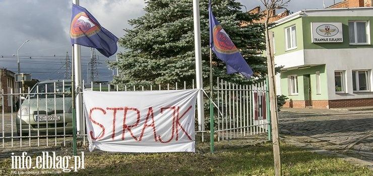 Trwa Strajk! Tramwaje nie wyjechały na tory. ZKM przygotował zastępczą komunikację