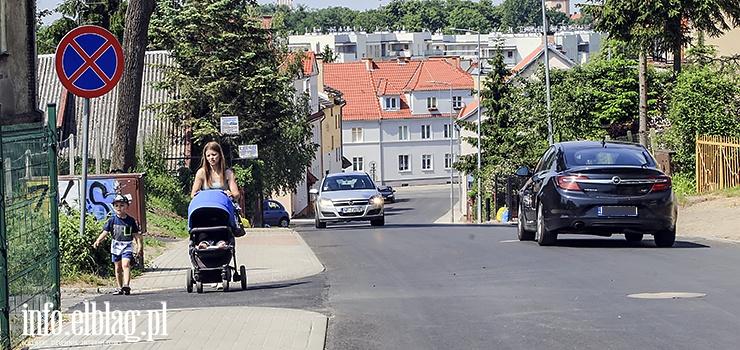 Kolejne elbląskie ulice już po remoncie. Kochanowskiego i Piechoty z nową nawierzchnią