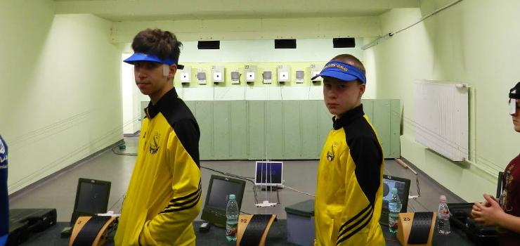 Młody elblążanin zdobył brązowy medal na strefowych Mistrzostwach Polski w strzelectwie