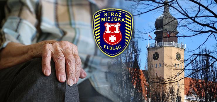 90-latek nie pamiętał, gdzie mieszka. Pomogła mu urzędniczka i partol straży miejskiej