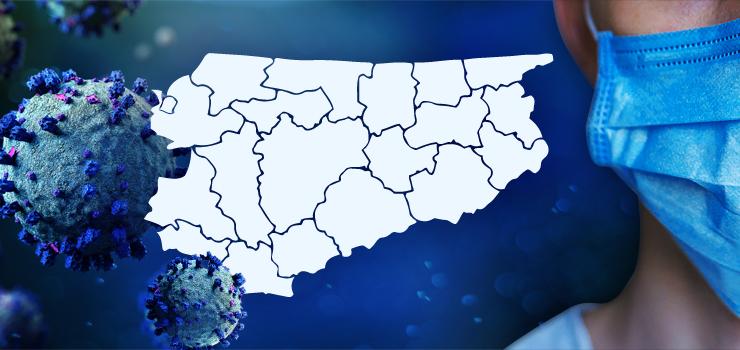 Ponownie duża liczba zakażeń w regionie-82 osoby. W kraju lekki spadek 1350 zakażeń