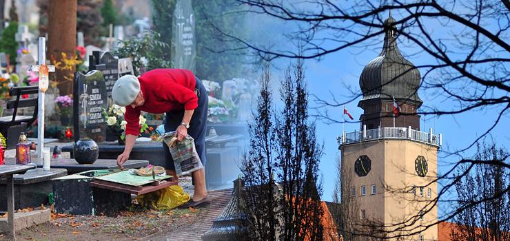 Miasto o organizacji ruchu i komunikacji w okresie Wszystkich Świętych