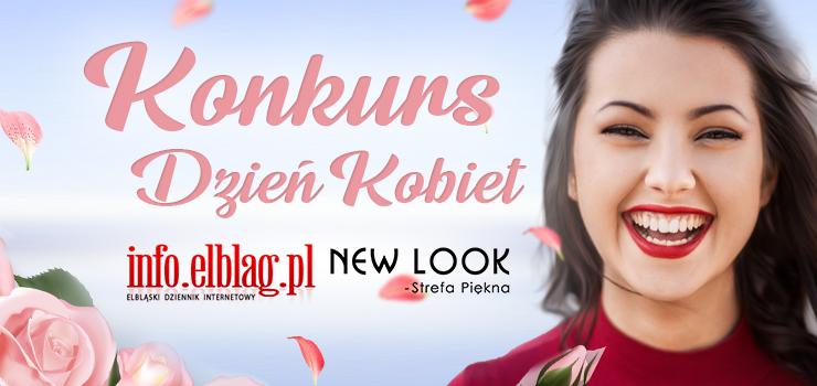 New Look - Strefa Piękna oraz info.elblag.pl zachęcają do wspólnego świętowania Dnia Kobiet!