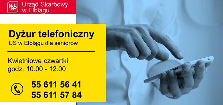 Dyżur telefoniczny dla seniorów w Urzędzie Skarbowym w Elblągu