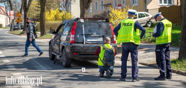 Elbląg Kościuszki: 75-latka potrącona na przejściu dla pieszych