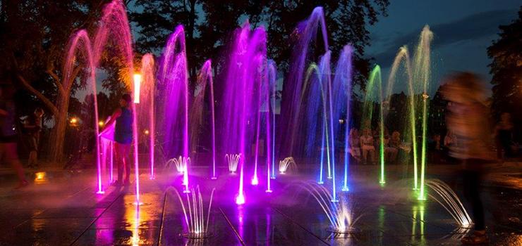 Miejskie fontanny. Start w Dzień Dziecka