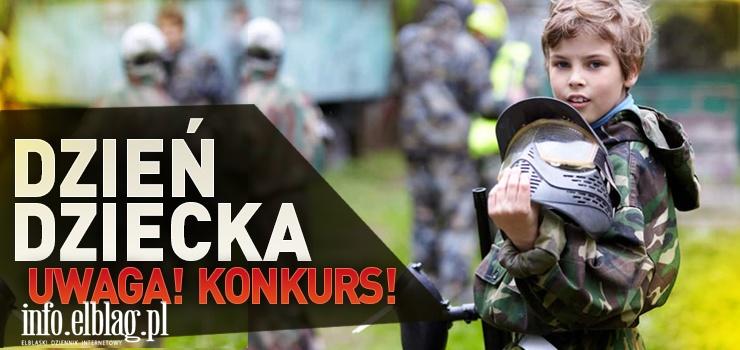 Paintball Elbląg i info.elblag.pl zapraszają do wspólnej zabawy! Z okazji Dnia Dziecka organizujemy konkurs