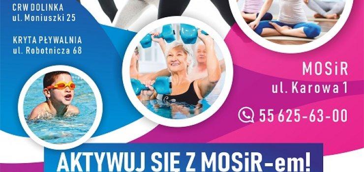 Aktywuj się z MOSiR-em! Ruszają zajęcia