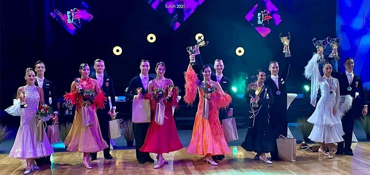 Elbląscy tancerze wywalczyli tytuł Wicemistrzów Polski FTS