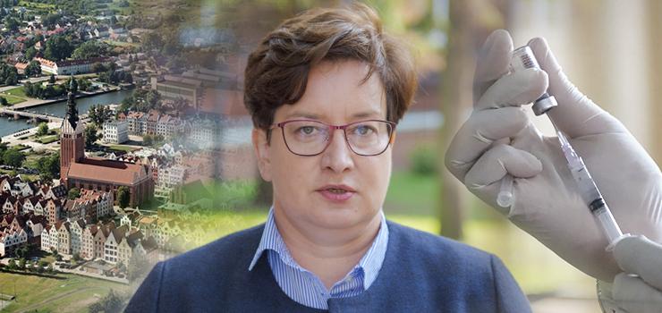 Posłanka Lewicy Monika Falej: W Elblągu zaszczepionych jest 54 proc. osób. To bardzo mało