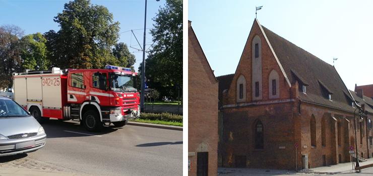 """""""Trzy wozy strażackie gnały właśnie na sygnale ul. Pocztową. Co się dzieje?"""""""