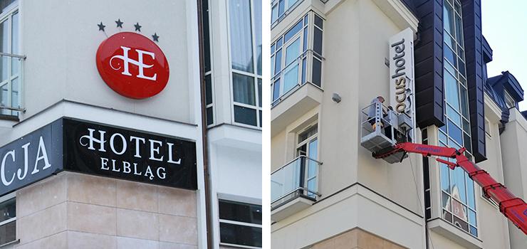 Hotel Elbląg przeszedł do sieci Focus. Na obiekcie pojawił się już nowy szyld