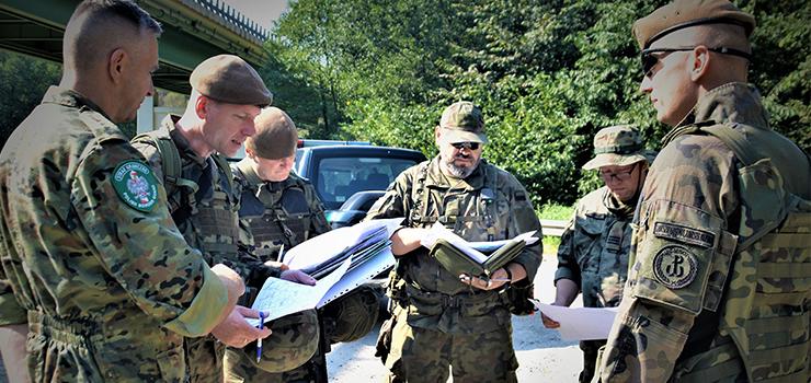 Wspólne ćwiczenia żołnierzy 43blp ze Strażą Graniczną