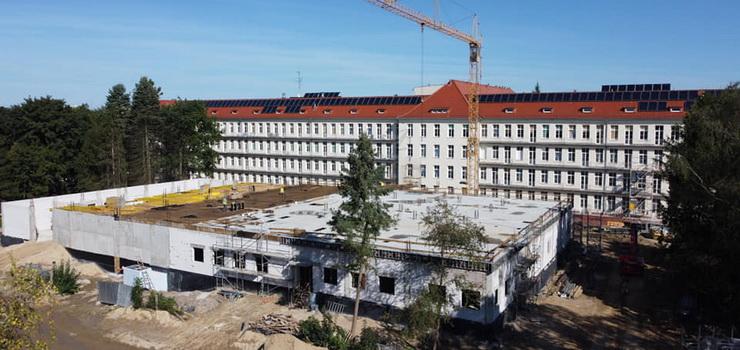 Trwa budowa bloku operacyjnego Szpitala Miejskiego. Na jakim etapie są prace?