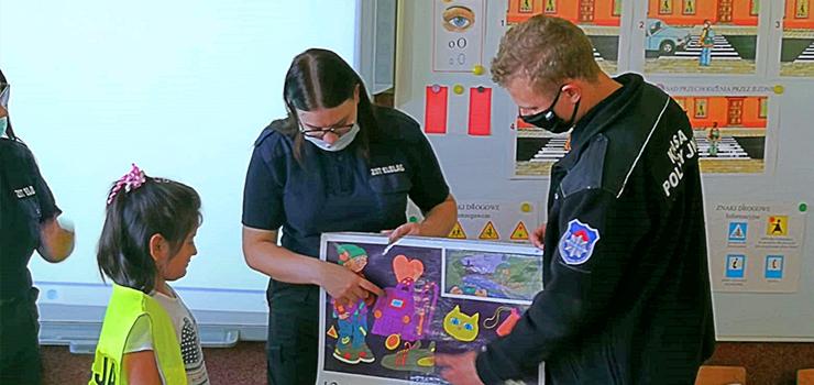 Bezpieczna Droga do Szkoły z elbląską Policją