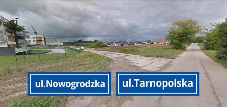 """Radny dopytuje o ul. Nowogródzką i Tornopolską. """"Po obfitych deszczach zapadła się nawierzchnia"""""""
