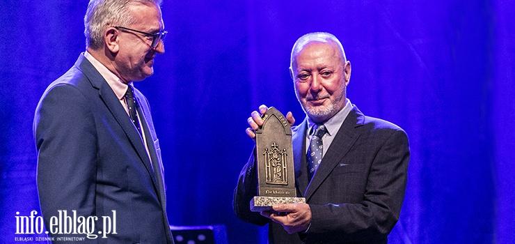 Marek Jagodziński z nagrodą biskupa elbląskiego. Za nami gala XXI Dni Papieskich [zobacz zdjęcia]