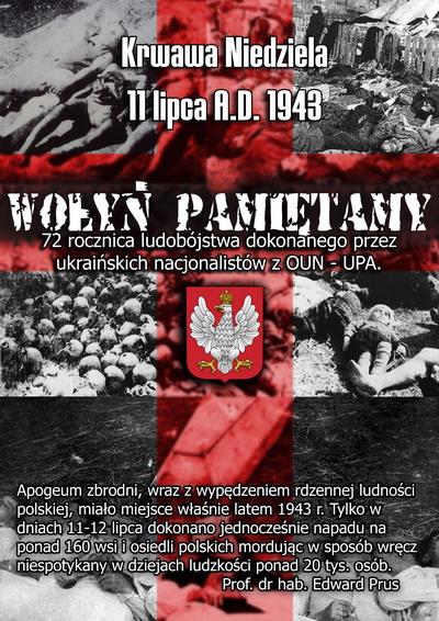 """11 lipca 1943 – Rzeź Wołynia. """"Nie zawahali się spełnić największej i najokrutniejszej zbrodni"""""""