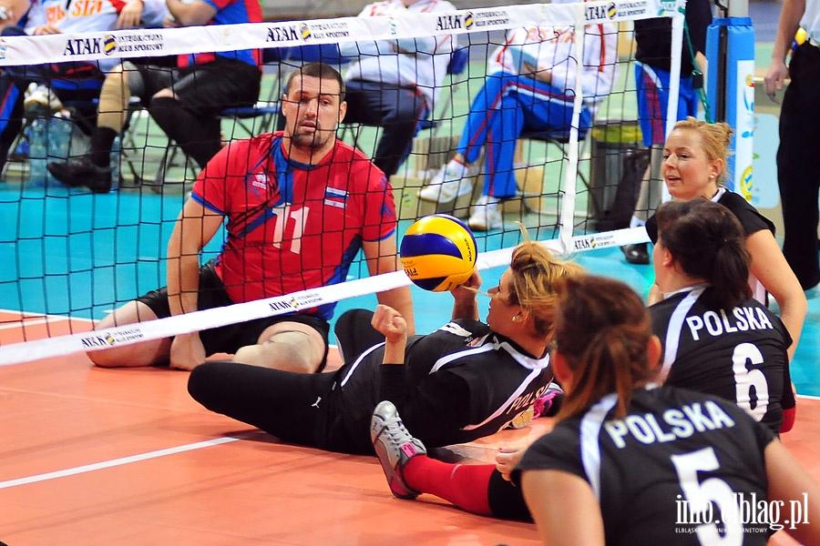 Mecz Start Wroc�aw - IKS Atak II i Rosja - Polska kobiety