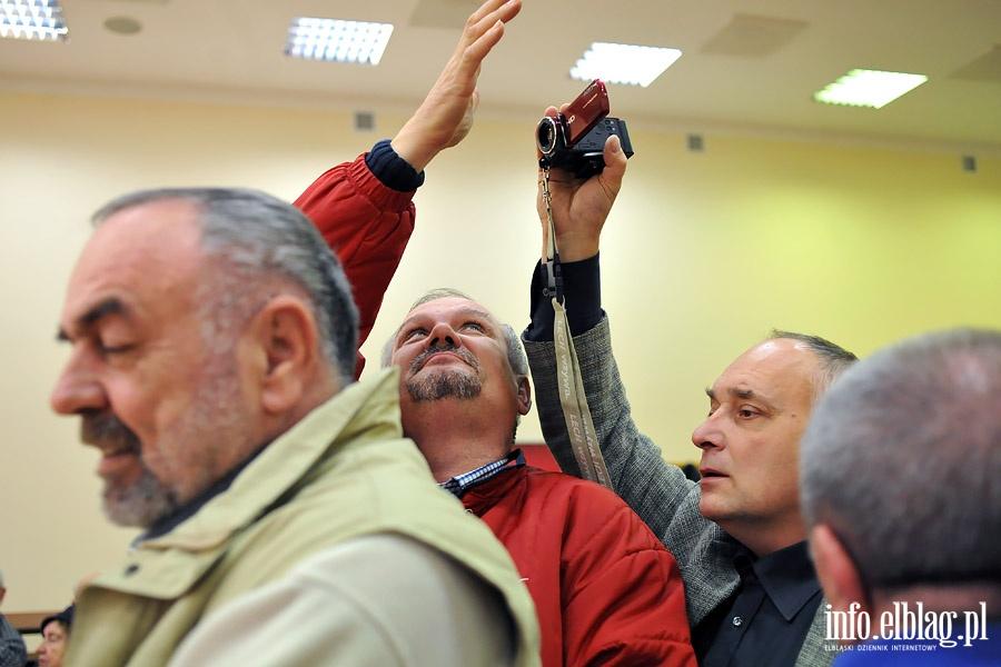 Jerzy Wilk i Jaros�aw Gowin na spotkaniu podsumowuj�cym wybory