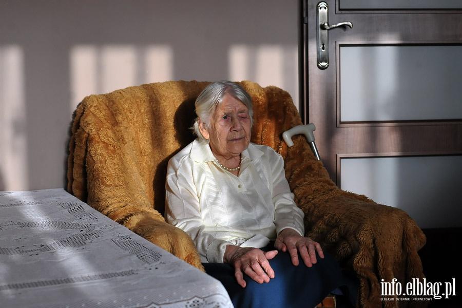 100. urodziny Pani Wladyslawy Straszkiewicz