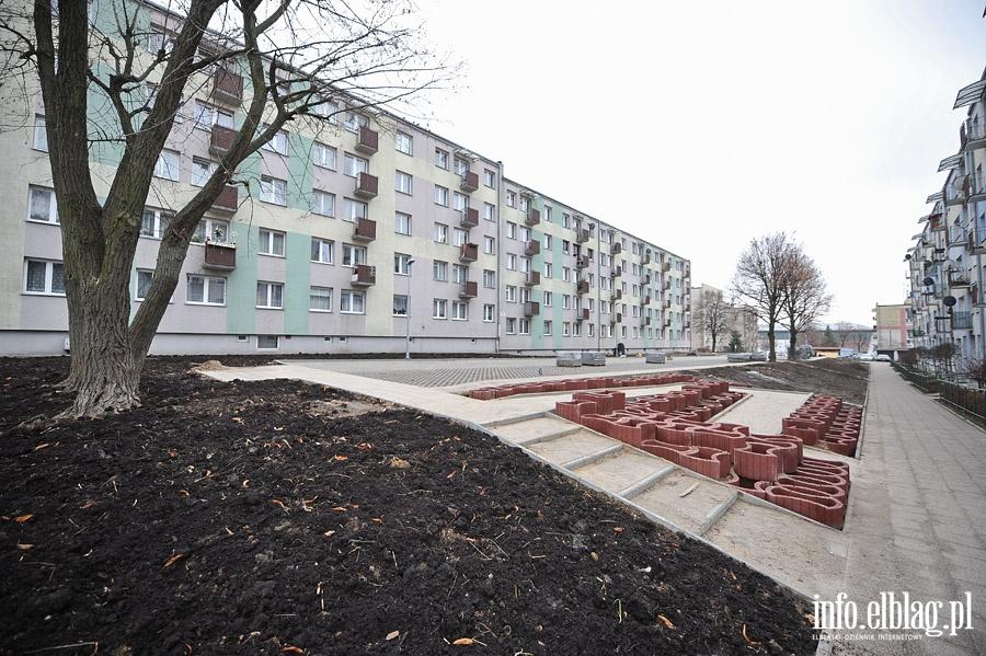 Budowa miejsc parkingowych przy ul.Gwiezdnej