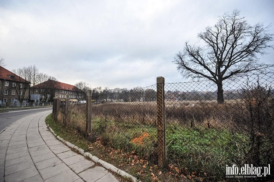 Teren pod budow� nowej stra�nicy przy ul.��czyckiej