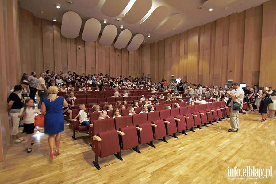 Oficjalne otwarcia sali koncertowej w szkole muzycznej
