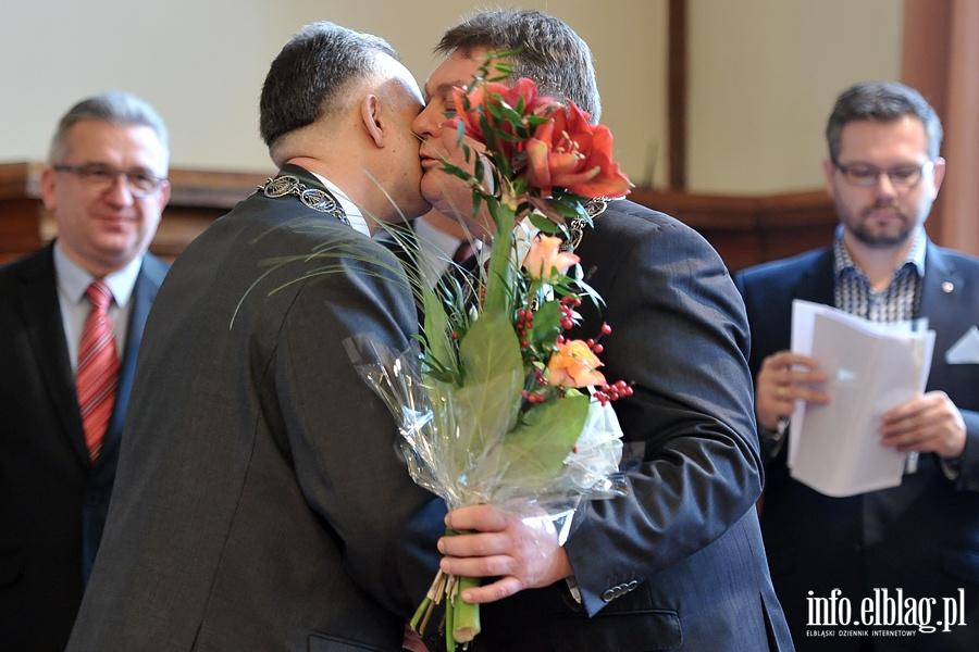 Serdeczny poca�unek dla nowego Przewodnicz�cego R M